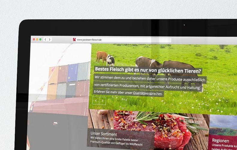 Neue Website mit Contao CMS für die E.Jacobsen GmbH