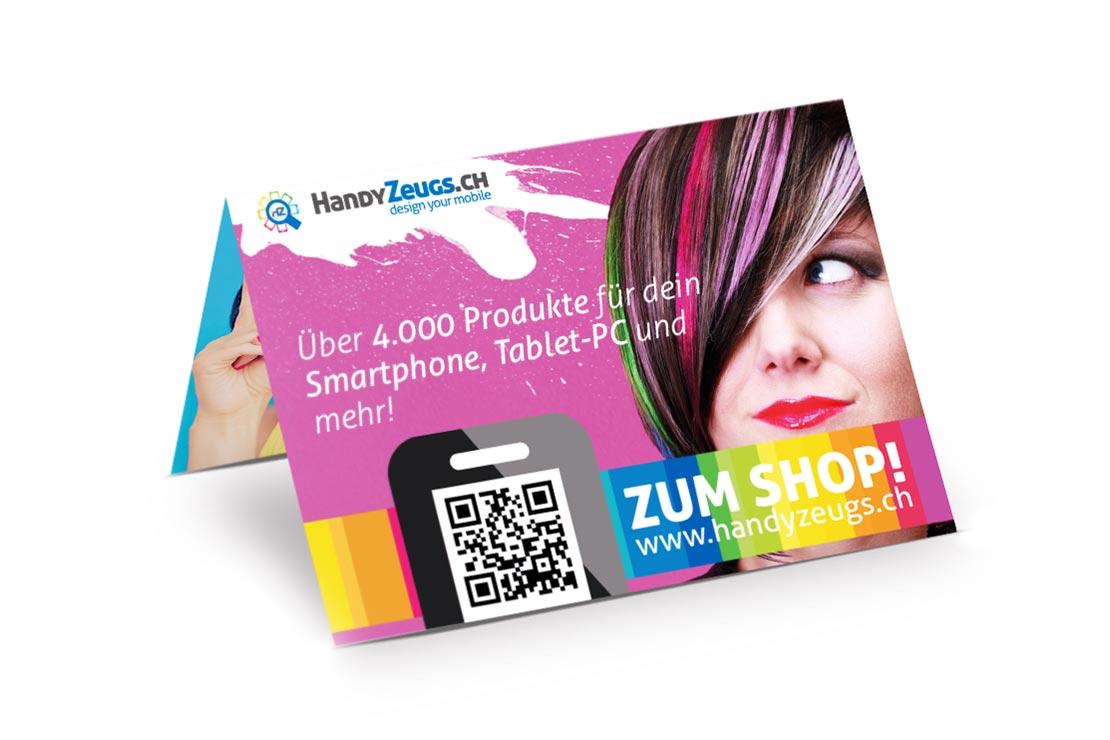 HandyZeugs Printdesign Gestaltung Printprodukte