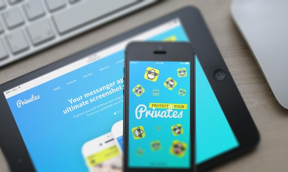 Privates App Design