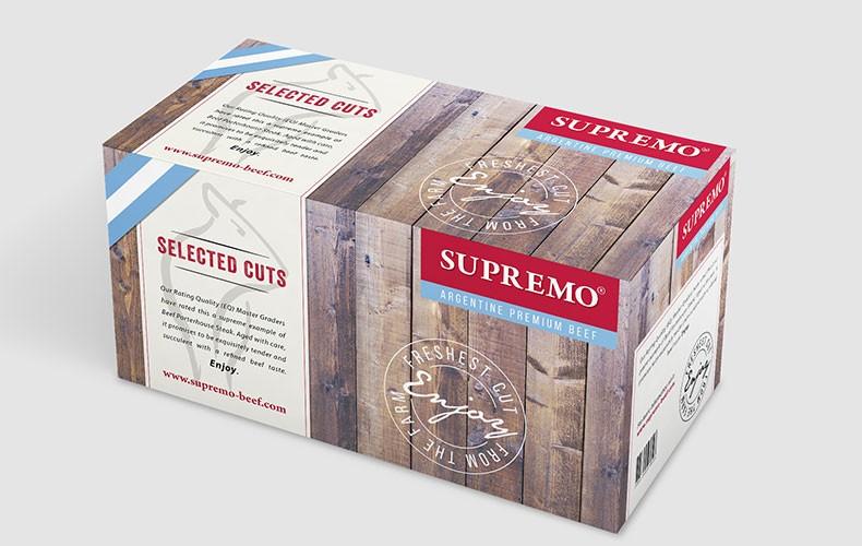 SUPREMO Markenentwicklung & Package Design