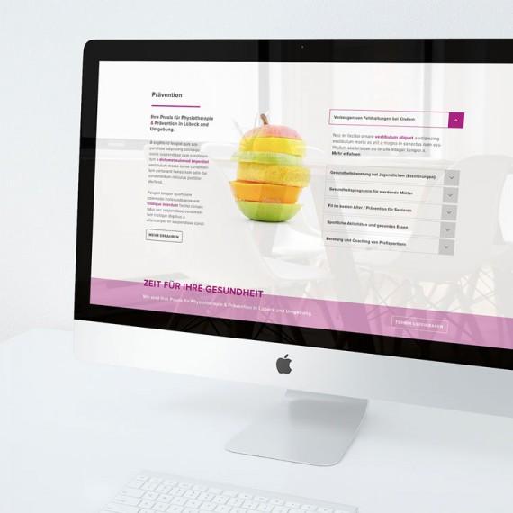 Corporate Design, Responsive Webdesign und Online Marketing für Praxis