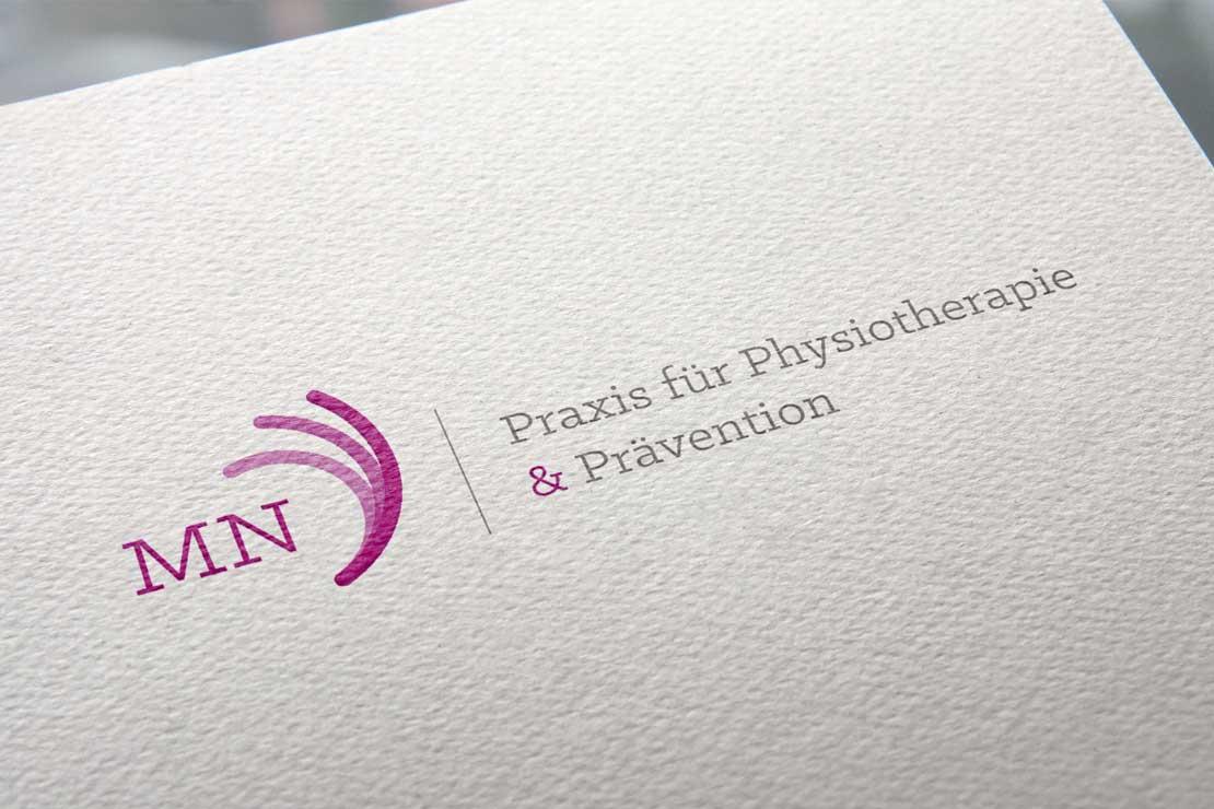Referenz MN Praxis Logodesign