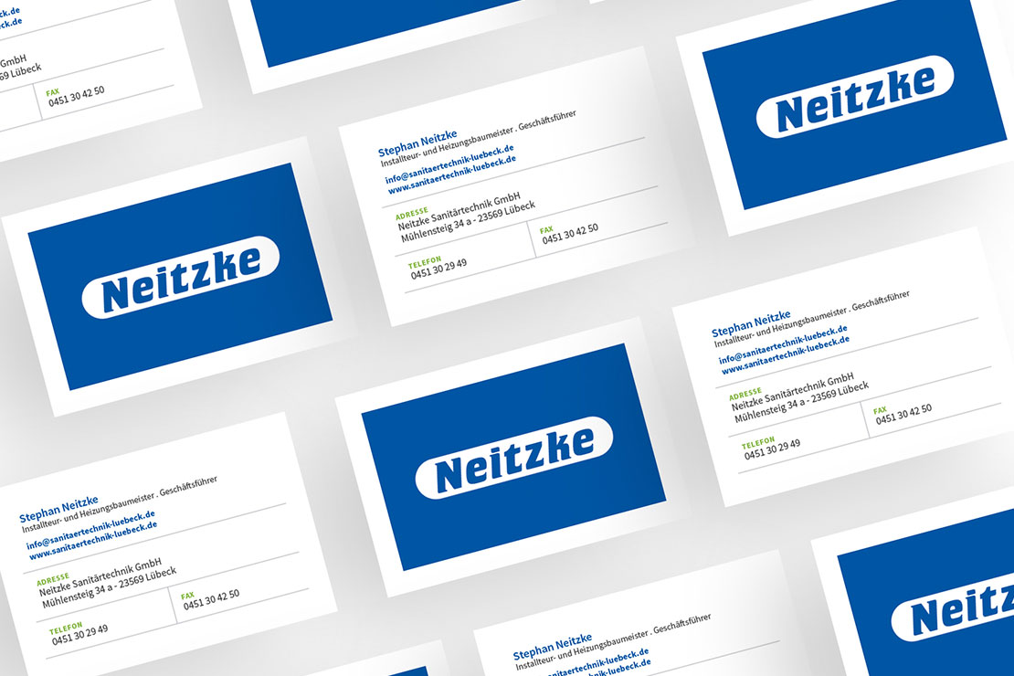 Corporate Design für Neitzke Sanitärtechnik GmbH