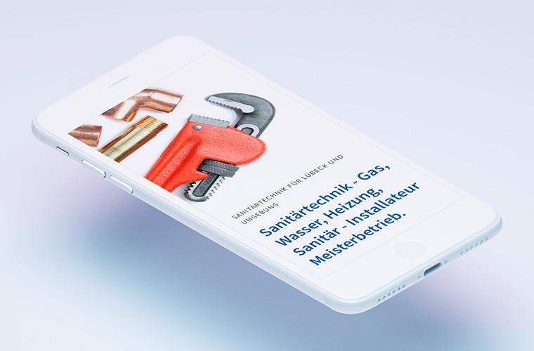 Wir verhelfen dem Handwerk zu neuem Glanz! Responsive Website für die Neitzke Sanitärtechnik GmbH.