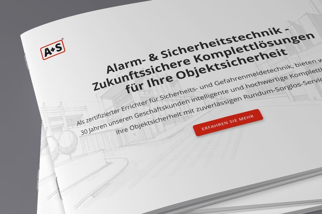 A+S Printdesign Imagebroschüre