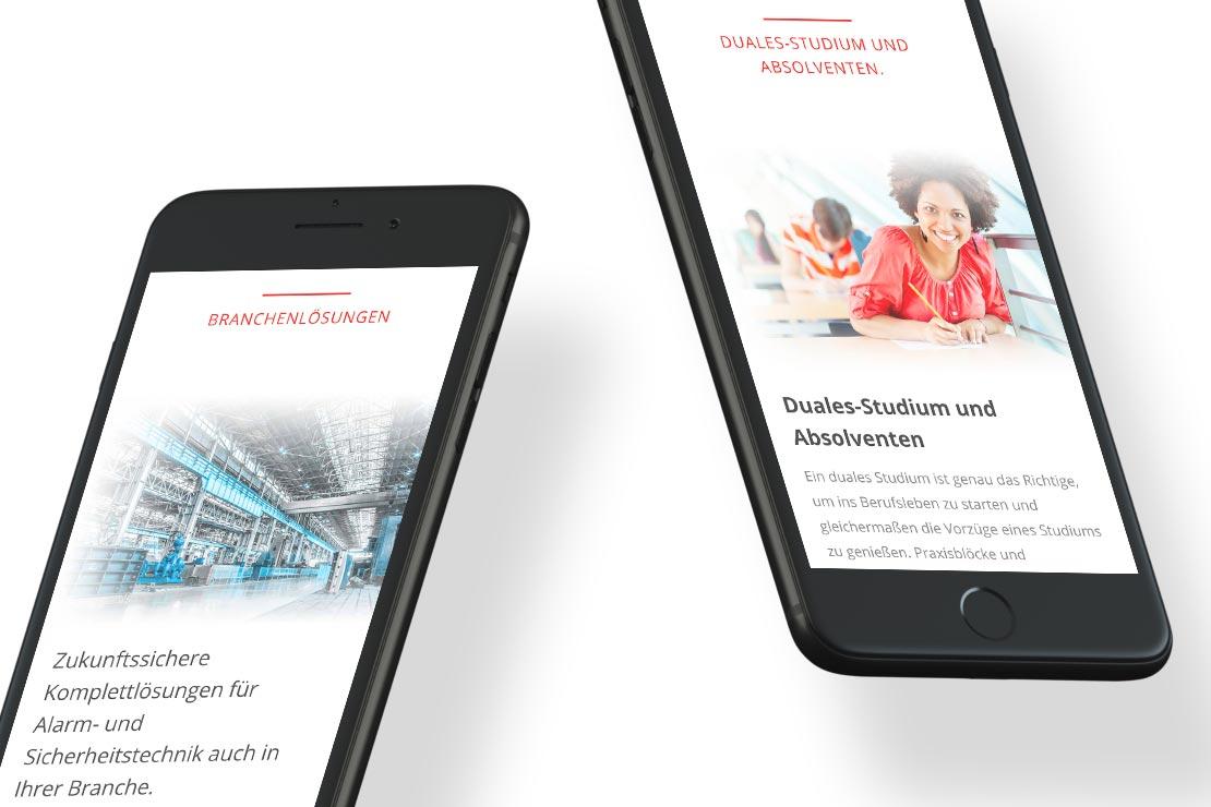 A+S Markenentwicklung Responsive Webdesign