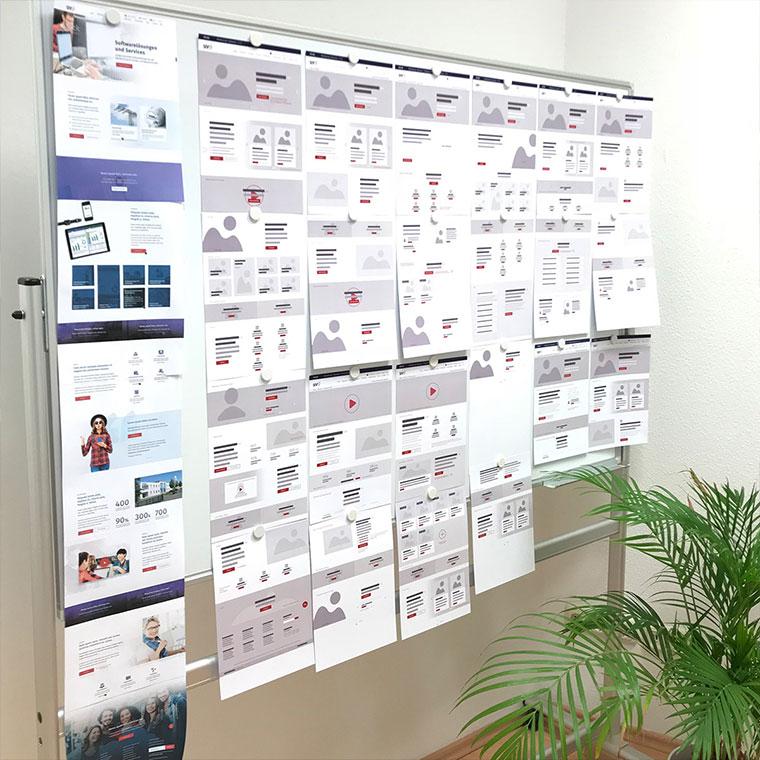 Von den ersten Skizzen zum pixel-perfect Responsive Webdesign für die SIV.AG!