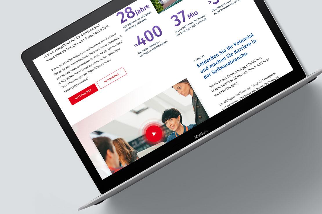 Responsive Webdesign Contao CMS SIV.AG