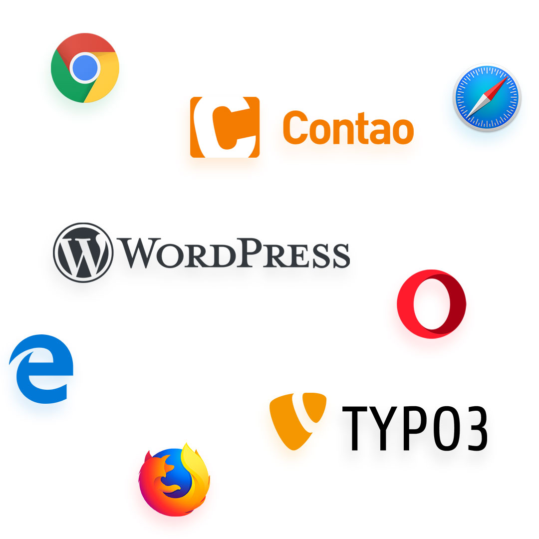 Werbeagentur für Browserkompatibilität & Content Management Systeme (CMS)
