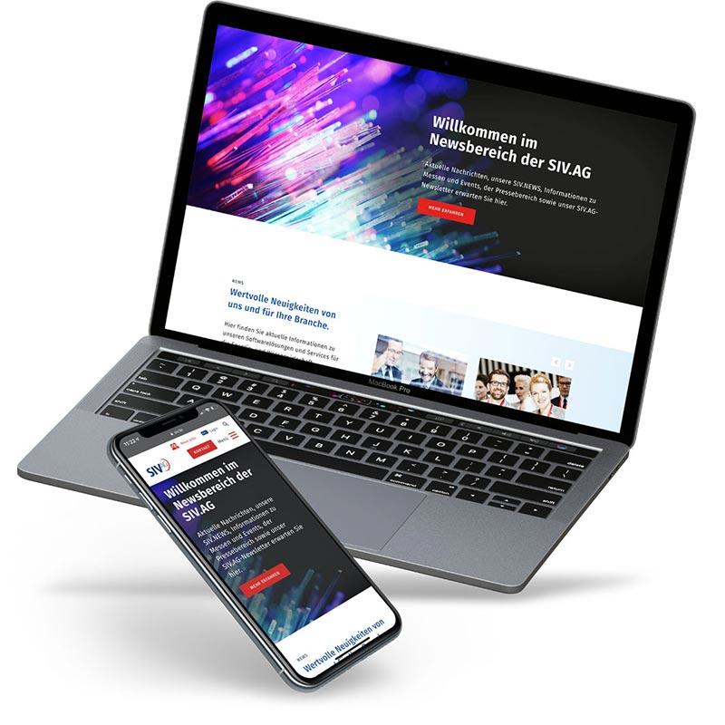 Werbeagentur für Responsive Webdesign