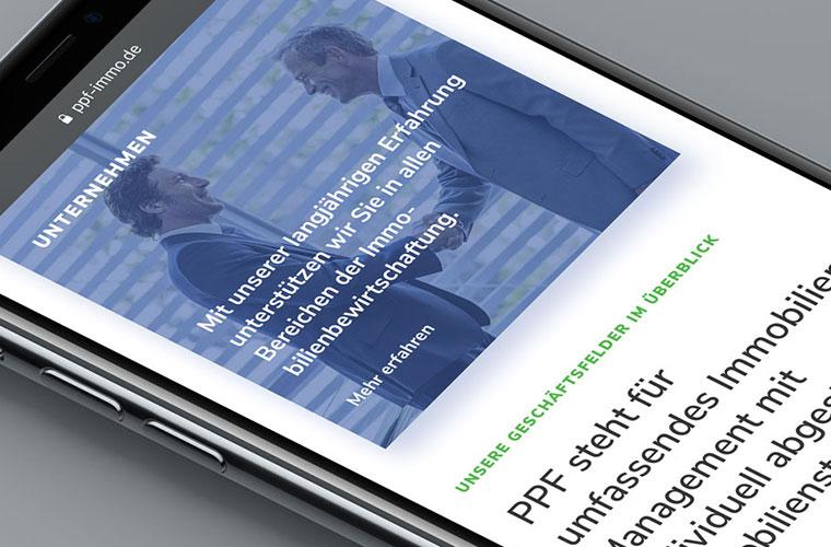 Neue Website mit Responsive Webdesign und dem Contao CMS für die PPF