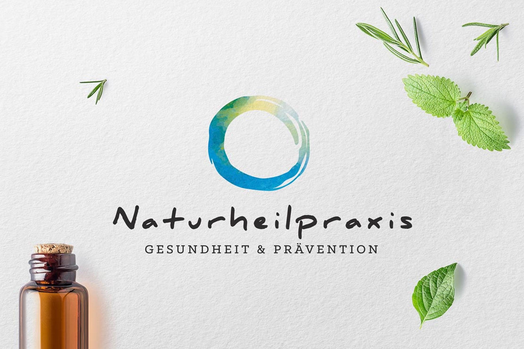 Markenentwicklung Corporate Design Naturheilpraxis für Naturheilkunde und Osteopathie