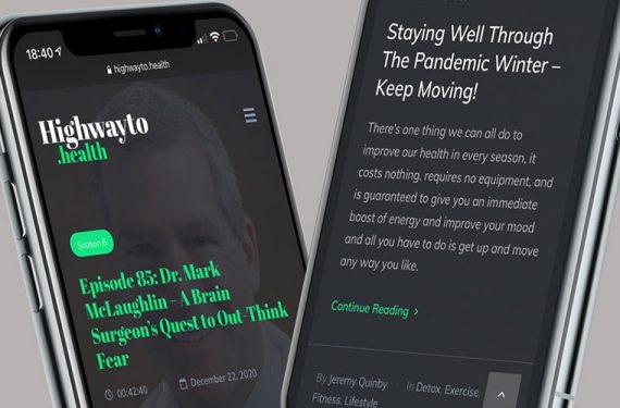 Neue Website mit WordPress CMS für Highwayto.health