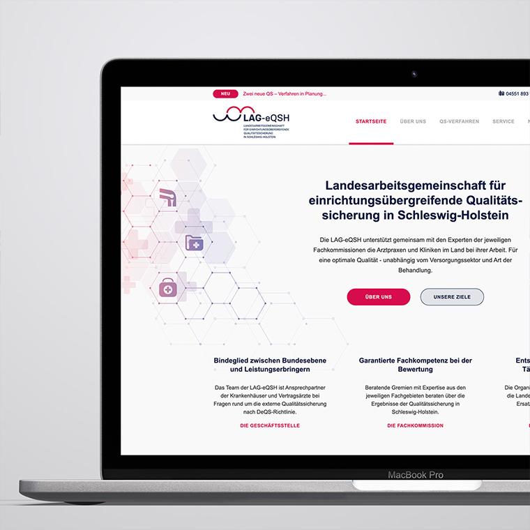 Neue Website für die Landesarbeitsgemeinschaft für einrichtungsübergreifende Qualitätssicherung in Schleswig-Holstein